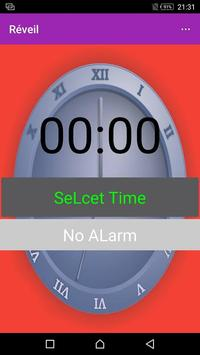 New voice alarm clock for free poster