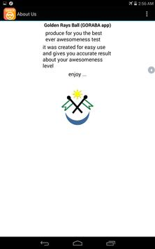 Awesomeness Test apk screenshot