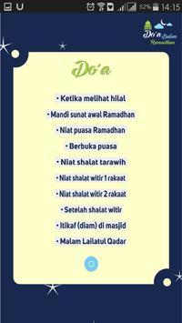 Doa Bulan Ramadhan screenshot 3