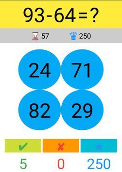 Toplama Çıkarma Çarpma Bölme / Matematik Oyunu screenshot 4