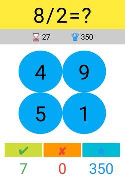 Toplama Çıkarma Çarpma Bölme / Matematik Oyunu screenshot 6
