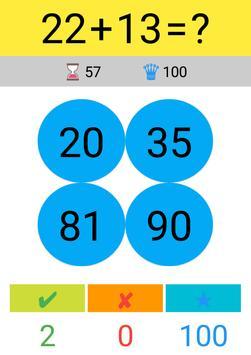 Toplama Çıkarma Çarpma Bölme / Matematik Oyunu screenshot 2