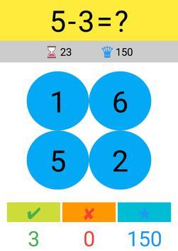 Toplama Çıkarma Çarpma Bölme / Matematik Oyunu screenshot 3