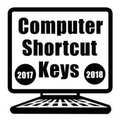 computer shortcut keyboard  2018 icon