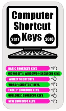 computer shortcut keyboard  2018 screenshot 1