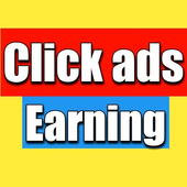 Click Ads Earning icon