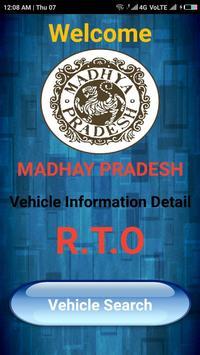 MP Vehicle Vahan Information poster