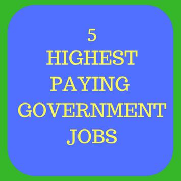 5 Highest paying government jobs in India poster