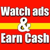 Watch Ads Earn Money icon