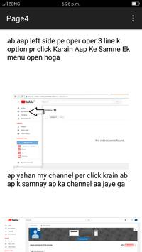 ONE TO ALL YOUTUBE EARNING COURSE apk screenshot