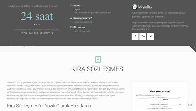 Legalist screenshot 2