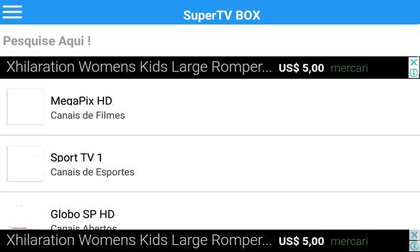 SuperTV BOXHD Cartaz