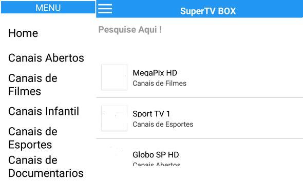 SuperTV BOXHD imagem de tela 1
