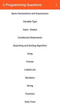 C Programming Questions screenshot 4