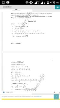 Math Fsc(I&II) KeyBook and Notes screenshot 1