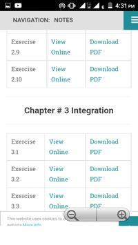 Math Fsc(I&II) KeyBook and Notes screenshot 2