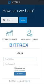 Bittrex Exchange   Support Center poster