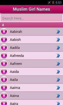 Muslim baby's Name screenshot 1