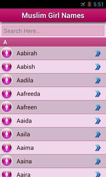 Muslim baby's Name screenshot 9