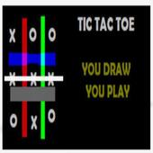 Draw Tic Tac Toe Romantic Game icon
