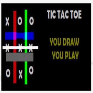 Draw Tic Tac Toe Romantic Game screenshot 1