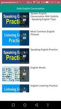 Daily English Conversation screenshot 1