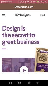 99designs.com poster