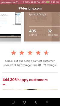 99designs.com screenshot 7
