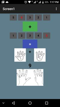 Learning Math with Fingers for kids ( sum) screenshot 1