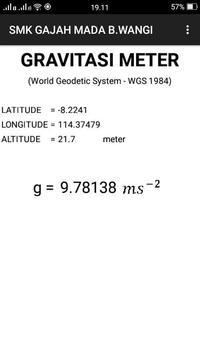 GravitasiMeter apk screenshot