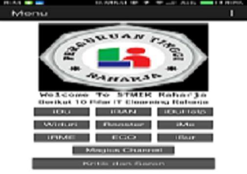 10 Pilar IT Elearning Raharja apk screenshot