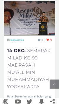 Muallimin Muhammadiyah Jogja apk screenshot