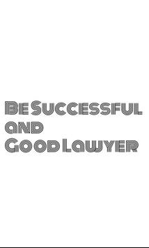 Become Successful Lawyer poster