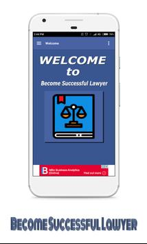 Become Successful Lawyer apk screenshot
