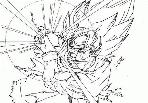 Coloring Pages Goku Series poster