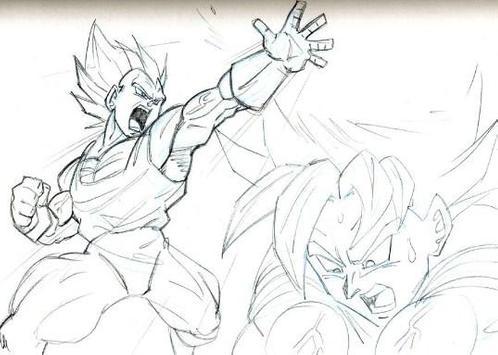 Coloring Pages Goku Series screenshot 1