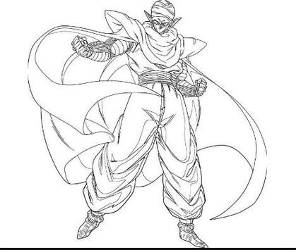 Coloring Pages Goku Series screenshot 2