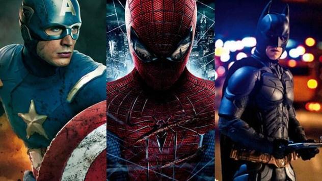 Super heros Wallpaper poster
