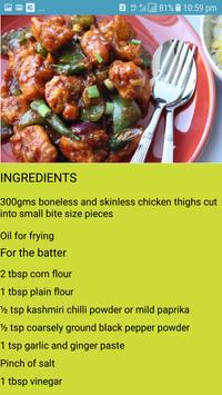 Amazing Chicken Recipes screenshot 1