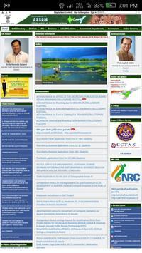 Assam eDistrict Portal poster