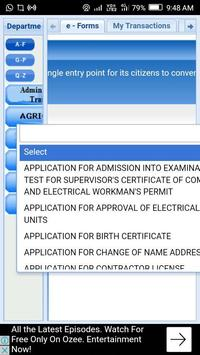 eDistrict login screenshot 1