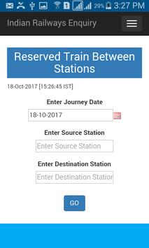 Indian Rail Train Status