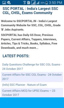 SSC Exam Questions screenshot 3