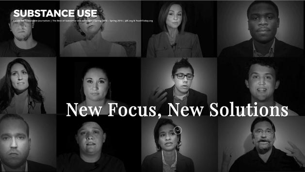 Substance Use: New Solutions poster
