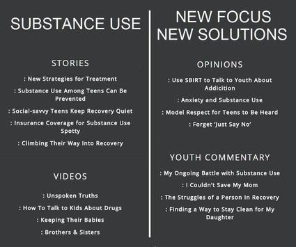Substance Use: New Solutions screenshot 1