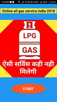 Online all gas service india 2018 poster