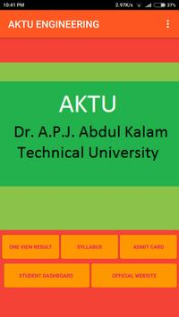 AKTU ENGINEERING poster