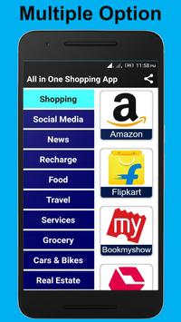 All in One Shopping App poster