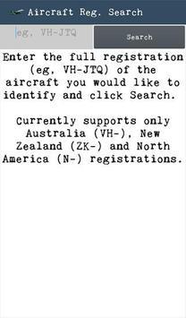 Aircraft Reg Search poster