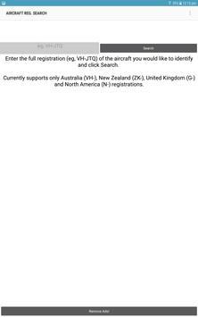 Aircraft Reg Search screenshot 2
